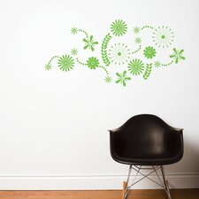 Spot Flower Power Wall Decal