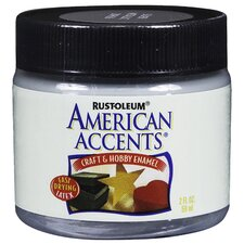 American Accents® Brush Silver Craft and Hobby Brush Enamel Paint
