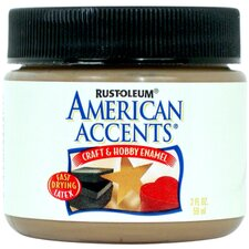 American Accents® Nutmeg Craft and Hobby Brush Enamel Paint