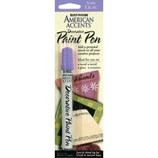 Satin Lilac Decorative Paint Pen
