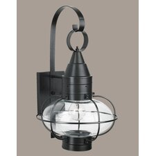 Classic Onion Medium 1 Light Outdoor Wall Lantern