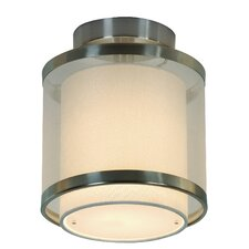 Lux 1 Light Semi Flush Mount