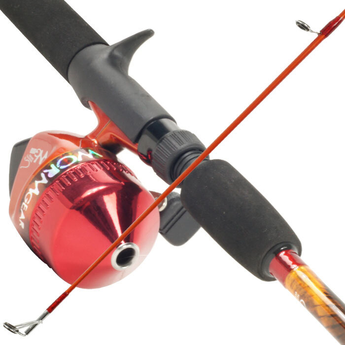 how to cast open reel fishing pole