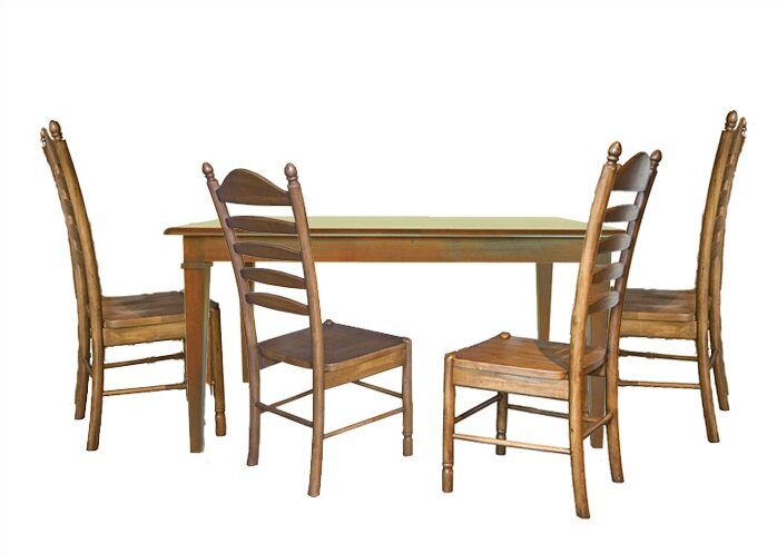 Bad Credit Carolina Cottage Hudson 5 Piece Dining Set