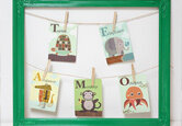 DIY Nursery Wall Art Gift Idea