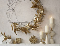 Decorating with Metallics for the Holidays