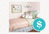3 Budgets for a Fairytale Girls' Bedroom