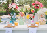 How to Decorate a Playful Easter Table