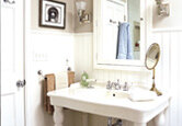 Bathroom: Updated Vintage Style