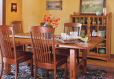 Dining Room: Craftsman Comfortable