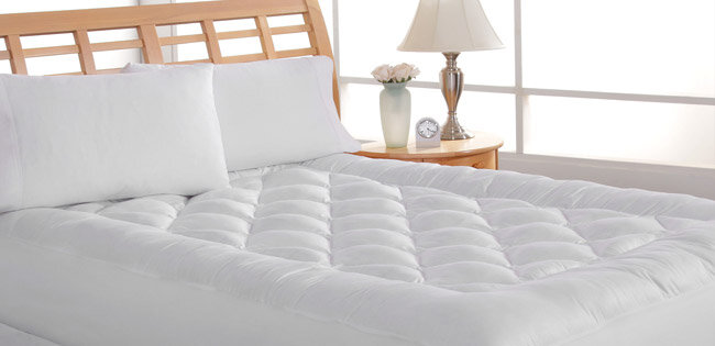 mattress pad guide