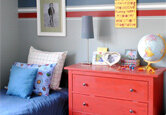 Decorate a Little Boy's Room with Primary Colors